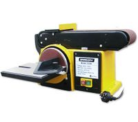 Shogun 500W Belt & Disc Sander Power Tool Grinder