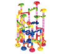 Deluxe Marble Race / Marble Run Play Set - 105 Pieces