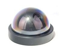 Dummy Dome CCTV Surveillance Security Camera with Flashing LED