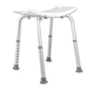 Adjustable Bath / Shower Seat - White