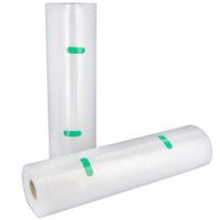 2 Rolls of 28cm x 1000cm Replacement Vacuum Sealer Food Saver Bags - CF28V10