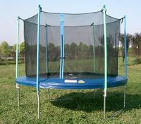10 Feet Trampoline with Safety Net/Mat/Pad