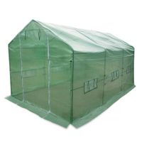 Large Triangle Roof Plant Greenhouse - 3.5m x 2.0m x 2.0m