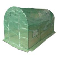 Large Round Roof Plant Greenhouse - 3.5m x 2.0m x 2.0m