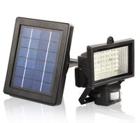 Motion Activated Solar Power Security Light