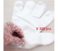300 Clear Disposable Plastic Gloves