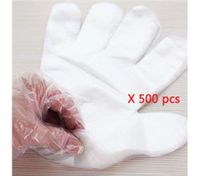 500 Clear Disposable Plastic Gloves