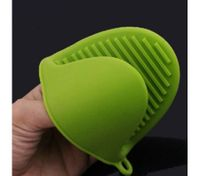 Green Silicone Oven Mitt Microwave Baking Heat Proof Glove
