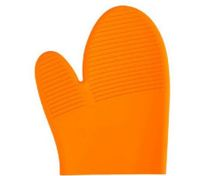 Yellow Silicone Oven Mitt Microwave Baking Heat Proof Glove