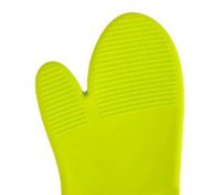 Green Heat Hot and skid Resistant Oven Mitt Protect Glove