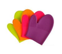 Heat Hot and skid Resistant Oven Mitt Glove Protect