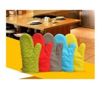 Hot and skid Resistant Oven Mitt Protect Glove