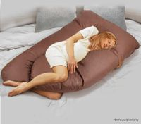 Pregnancy Support Pillow-Coffee
