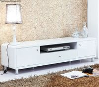 Modern High Gloss TV Stand