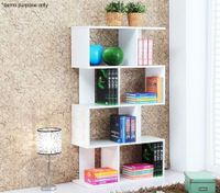 Modern High Gloss Book Shelf