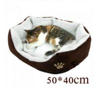 Pet Soft Fleece Warm Plush Mat Small