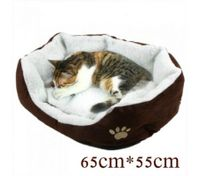Pet Soft Fleece Warm Plush Mat Large