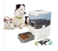 PF-21B Remote Controlled Automatic Pet Feeder Programmable LCD Control
