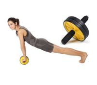 Abdominal Waist Exercise Gym Fitness Wheel Roller Wheels