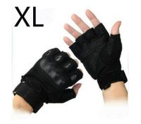 Gym Muscle Bodybuilding Black Mesh Fitness Power Lifting Weight Training Gloves XL