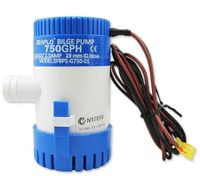12V Submersible Boat Bilge Water Pump - 750GPH