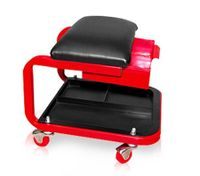 Mechanics Rolling Work Seat with Tray