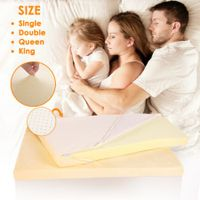 Memory Foam Mattress Topper - Single Size