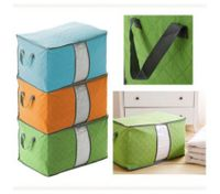 60*42*36 Quilt Blanket Pillow Non-woven Storage Bag Green