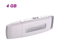 G3 Rechargeable USB Flash Drive / Voice Recorder(4GB)