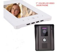 "Video Intercom Door Phone 7"" LCD Screen(1*Indoor Monitor + 1*Outdoor Camera)"