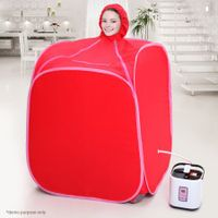 Portable Steam Sauna Tent with Hat