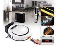 Super Slim Robotic Vacuum Cleaner