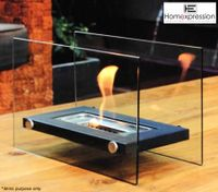 Eco Friendly Ethanol Fireplace - Rectangle