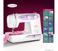 CARINA 23-Pattern Mini Sewing Machine-Purple