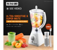 Maxkon Blender - Mixer Juicer Food Processor Smoothie Maker