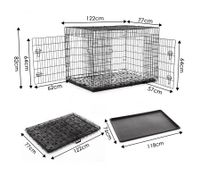 "Extra Large 48"" Collapsible Dog Crate"