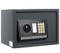 Small Personal Electronic Safe Security Box with Digital Code + Access Key