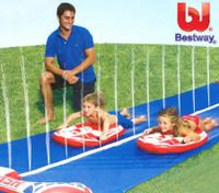 Bestway Dash 'n Splash Rally Pro Water Slide - 488cm