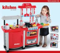 Interactive Toy Kitchen Play Set