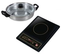 Kitchen Couture Induction Cooker with Bonus Pot
