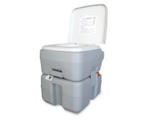 20L Integrated Portable Camping Toilet with Rotating Spout
