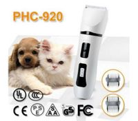 Rechargeable Detachable Blade Pet Grooming Clipper Cordless Electric Hair Trimmer for Quick Safe Cutting