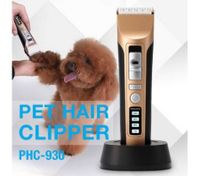 Cordless Electric Hair Trimmer Rechargeable Detachable Blade Pet Grooming Clipper