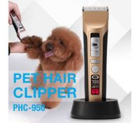 Overcharge Protection Electric Cordless Dog Cat Hair Trimmer Shaver