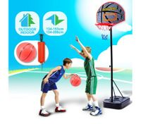 Junior Kids Basketball Play Set - Adjustable 3 Heights