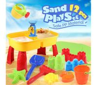Water & Sand Children Activity Play Table Toys