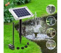 Solar Power Fountian Outdoor Pond Pool Water Pump