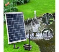 20W Solar Powered Outdoor Fountain Water Pump