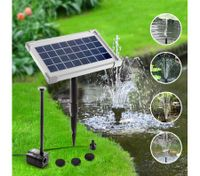 3.5w Solar Power Outdoor Fountain Water Pump with 4 Fountain Heads