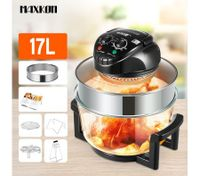 Maxkon 17L Turbo Low Fat Convection Halogen Oven cooker